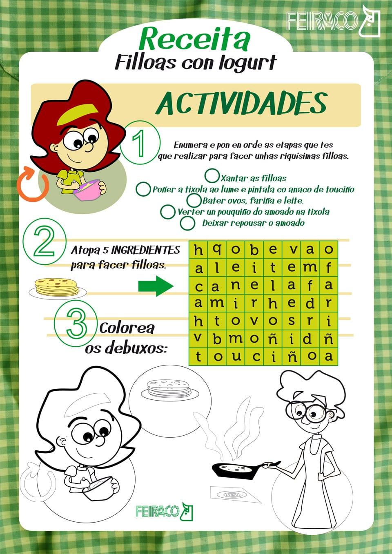 Feiraco actividades para nenos