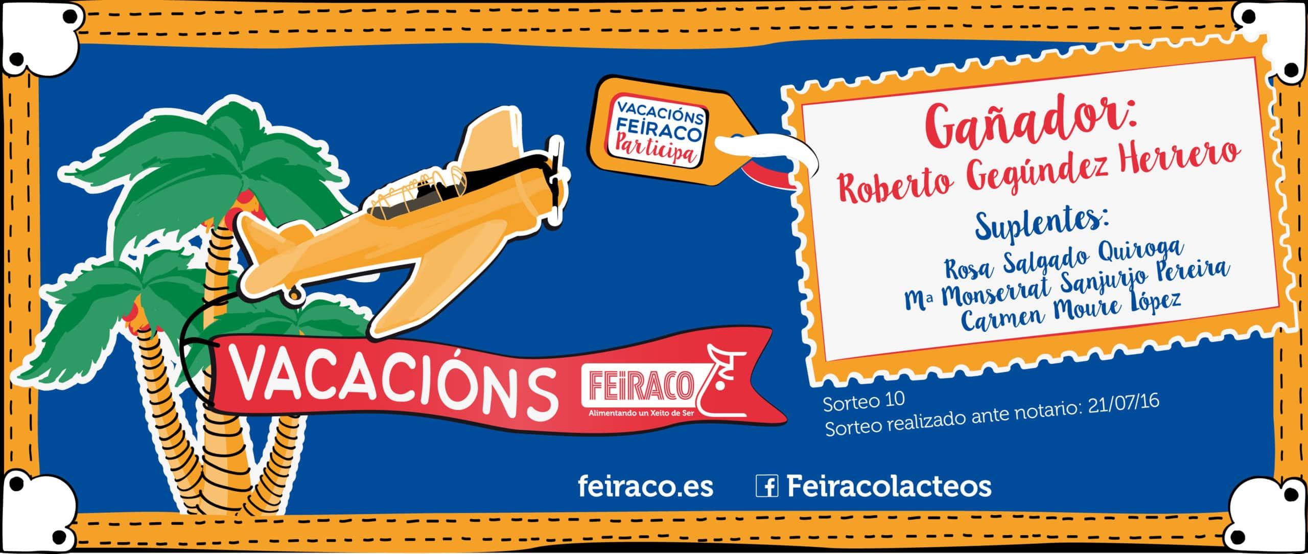 Feiraco Vacaciones ganador 10